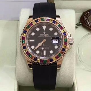ロレックス(ROLEX)の【国内正規・新品未使用】ロレックス ヨットマスター116695sats 黒文字盤(腕時計(アナログ))