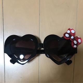 ディズニー(Disney)のディズニー ミニーちゃん ミニー ミッキー ハート サングラス(サングラス/メガネ)