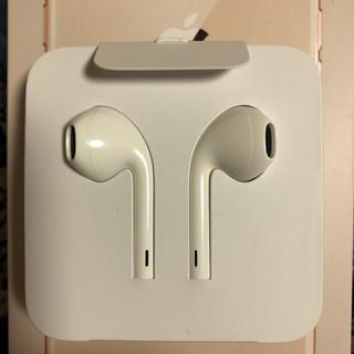 アイフォーン(iPhone)のiPhone8 イヤホン 純正 イヤフォン(ヘッドフォン/イヤフォン)