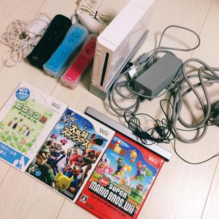 ウィー(Wii)のwii ソフト ゲーム 家庭用ゲーム機 マリオ スマブラ ピクミン ピクミン2(家庭用ゲーム本体)