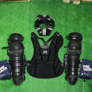 ミズノ(MIZUNO)の野球 キャッチャー防具 一式(防具)