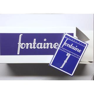 Fontaine 青 1ダース(トランプ/UNO)
