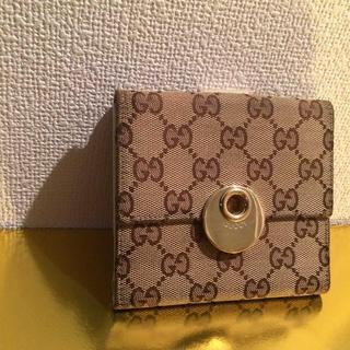 Gucci - 本物 GUCCI Wホック財布 正規品