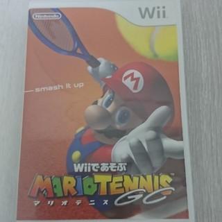 ウィー(Wii)のiai様専用 マリオテニスGC(家庭用ゲームソフト)