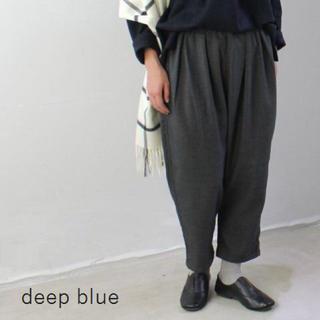 ディープブルー(DEEP BLUE)の【DEEP BLUE ディープブルー】ボールパンツ バルーンパンツ クロップド丈(サルエルパンツ)