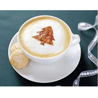 16枚入り ラテアートテンプレート コーヒーバリスタ型 コーヒー ミルク(コーヒー)