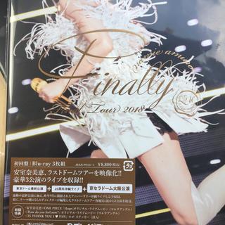初回盤 安室奈美恵 2018Finally+京セラドーム大阪公演ブルーレイ新品
