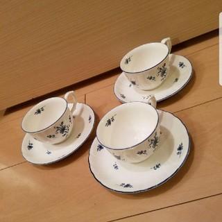 ノリタケ(Noritake)のNoritake カップ&ソーサー3セット(食器)