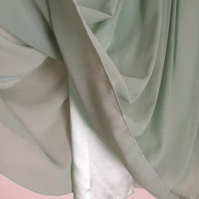f25ddae5fd191 QUEENS COURT(クイーンズコート)のQUEENS COURTミントグリーン ドレス レディースのフォーマル