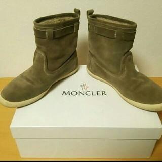 MONCLER - 【正規品レア】モンクレール ムートン ブーツ north face ダウン