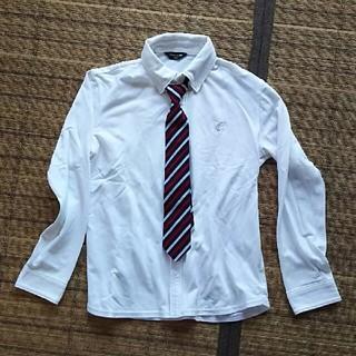 コムサイズム140 長袖シャツ