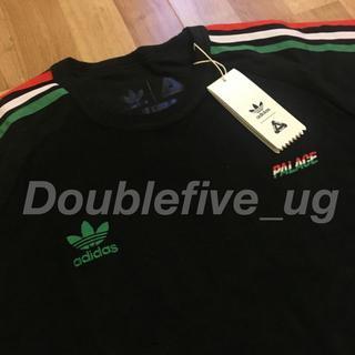 アディダス(adidas)のPalace adidas Terry T-Shirt 黒 18ss パレス(Tシャツ/カットソー(半袖/袖なし))