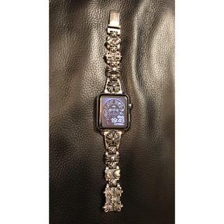 エルメス(Hermes)のクロムハーツ×HERMES Apple Watch Series 3セルラー(腕時計(デジタル))