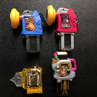 BANDAI - 仮面ライダー エグゼイド ハイパームテキ マキシマムマイティ デュアルギア