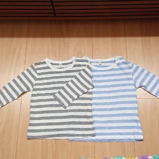 サイズ80ベビーロングTシャツ2枚セット