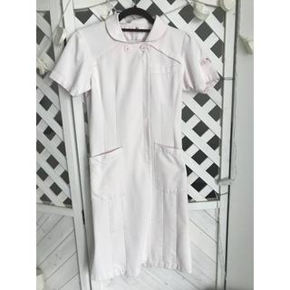 ワコール ワンピース ピンク ナース服 白衣 医療 看護服 制服 S(ひざ丈ワンピース)
