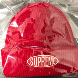 シュプリーム(Supreme)の supreme/Oval Patch Beanie(ニット帽/ビーニー)