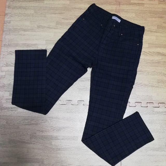 しまむら(シマムラ)のしまむらセオリア チェック柄パンツ レディースのパンツ(カジュアルパンツ)の商品写真