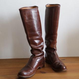 ショセ(chausser)のplus by chausserショセ ロングブーツ 23.5~24cm(ブーツ)