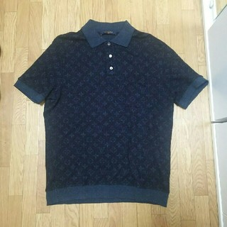 ルイヴィトン(LOUIS VUITTON)のルイヴィトン モノグラム ポロシャツ L(ポロシャツ)