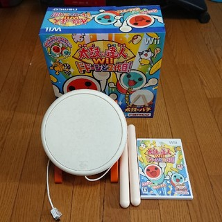 Wii - Wii 太鼓の達人 ドドーンと2代目!箱付き