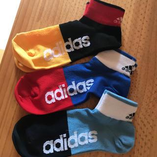 アディダス(adidas)のアディダス3セット☆新品(ソックス)