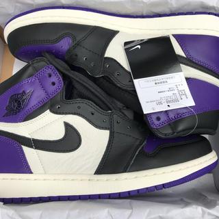 ナイキ(NIKE)のNike Air Jordan 1 OG Court Purple 26.5cm(スニーカー)