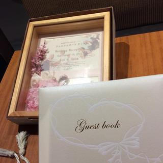 結婚式  ウェルカムボード& ゲストブック(ウェルカムボード)