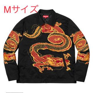 シュプリーム(Supreme)のSupreme dragon work jacket black黒 M size(Gジャン/デニムジャケット)