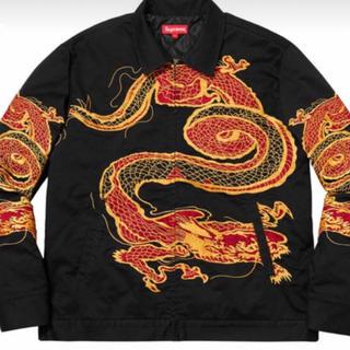 シュプリーム(Supreme)のLサイズ supreme Dragon work jacket(Gジャン/デニムジャケット)