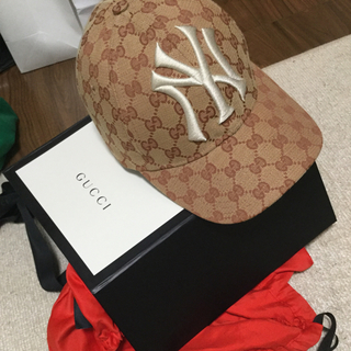 グッチ(Gucci)の Gucciキャップ ニューヨークヤンキース NY(キャップ)