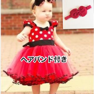 ディズニー(Disney)のyuu様専用 タグ 80 ミニー ドレス(セレモニードレス/スーツ)