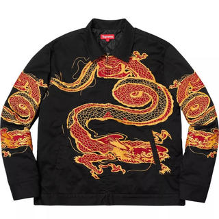 シュプリーム(Supreme)のsupreme Dragon Work Jacket ジャケット m(Gジャン/デニムジャケット)