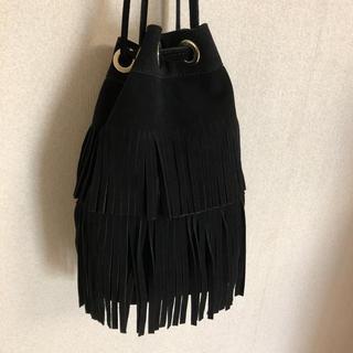 ザラ(ZARA)のZARA ■他サイトで売れました   フリンジ    ショルダーバッグ 美品(ショルダーバッグ)