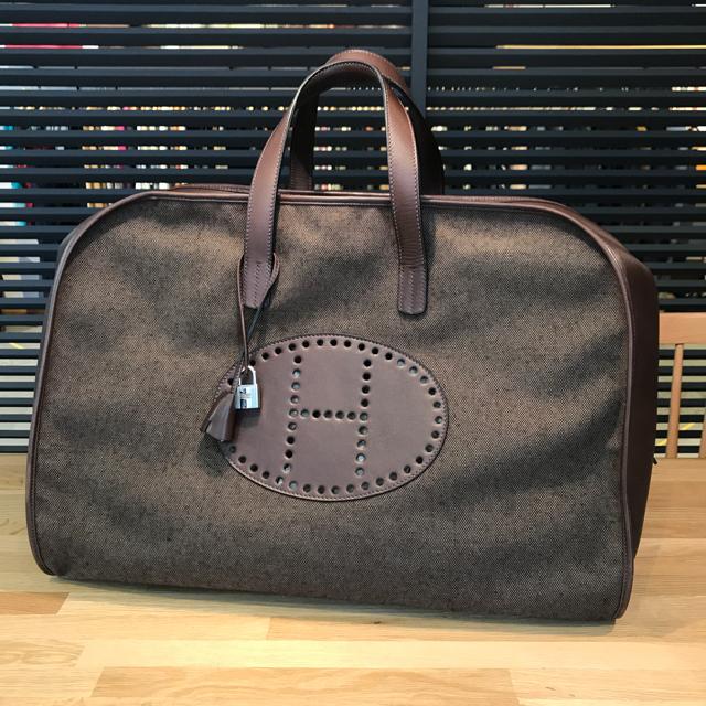Hermes(エルメス)のcyolo様の エルメス フードゥ ボストンバッグ エブリン パンチング メンズのバッグ(ボストンバッグ)の商品写真
