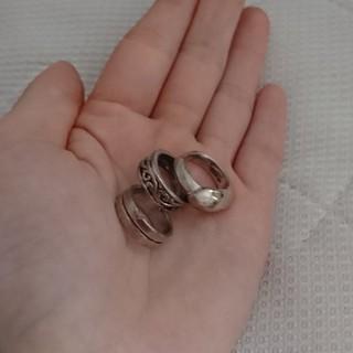 シルバーリング3点セット(リング(指輪))