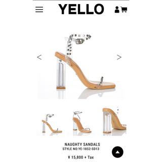 イエローブーツ(Yellow boots)のyello(サンダル)
