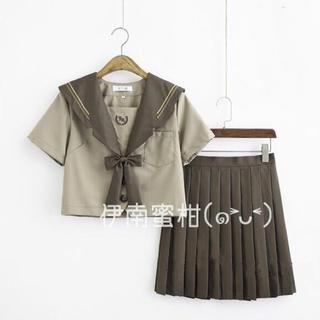 【B】コスプレ★セーラー服(上下セット)短袖(セット/コーデ)