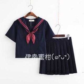 【G】コスプレ制服★セーラー服(上下セット)半袖(セット/コーデ)