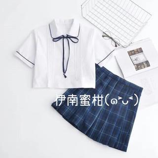 【K】コスプレ制服★セーラー服(上下セット)半袖(セット/コーデ)