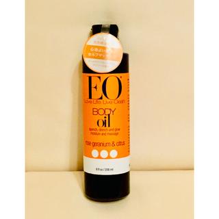 イーオー(EO)の【未使用品】EO ボディオイルローズゼラニウム&シトラス(ボディオイル)
