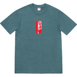 シュプリーム(Supreme)の18fw supreme Payphone Tee Slate(Tシャツ/カットソー(半袖/袖なし))