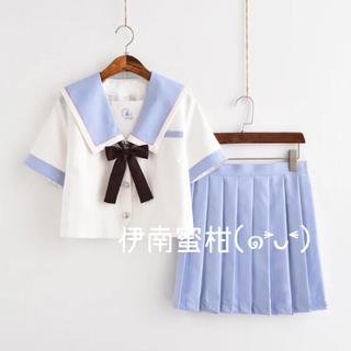 【P】コスプレ制服★セーラー服(上下セット)半袖(セット/コーデ)