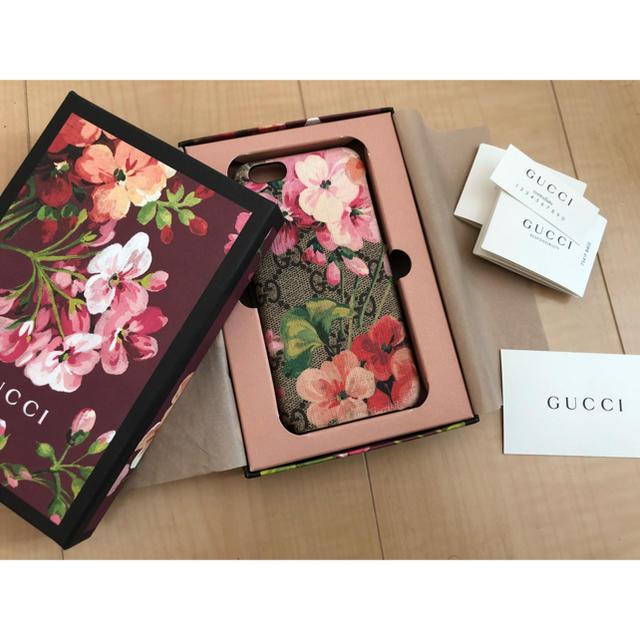 アディダス iphone8plus ケース 革製 | Gucci - GUCCI iPhoneケースの通販 by M's shop|グッチならラクマ