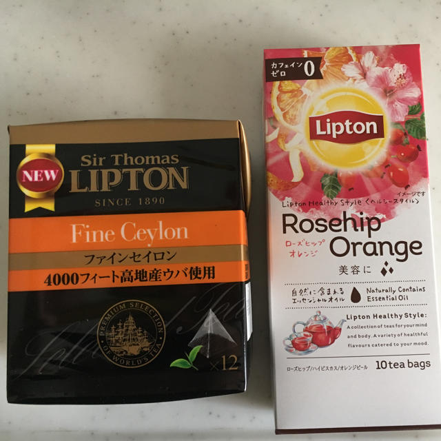 Unilever(ユニリーバ)のLipton 紅茶20セット 食品/飲料/酒の飲料(茶)の商品写真