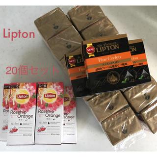 ユニリーバ(Unilever)のLipton 紅茶20セット(茶)