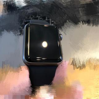 アップルウォッチ(Apple Watch)の(半年未満使用)  Apple Watch Series3(GPS) 42mm(腕時計(デジタル))