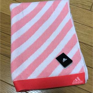 アディダス(adidas)のadidasバスタオル(タオル/バス用品)