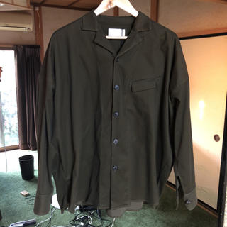 トローヴ(TROVE)のtrove トローヴ  オープンカラーシャツ (シャツ)