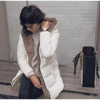 デュベティカ(DUVETICA)の【chatmigmon様専用】田丸麻紀さん着DUVETICAファー付ダウンコート(ダウンコート)